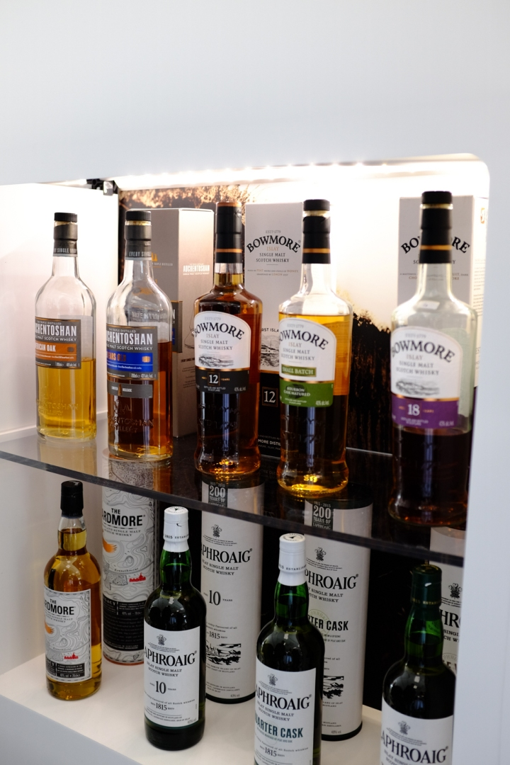 In the portfolio of Beam Suntory you'll find also lots of non American Whiskys