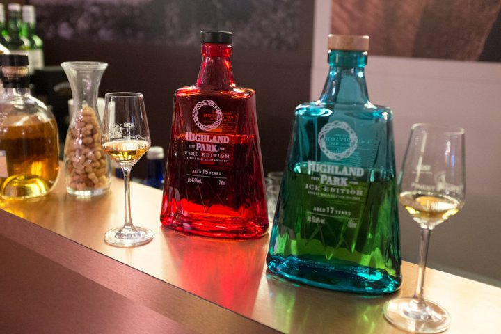 Highland Park FIRE und ICE in der Beam Suntory Lounge